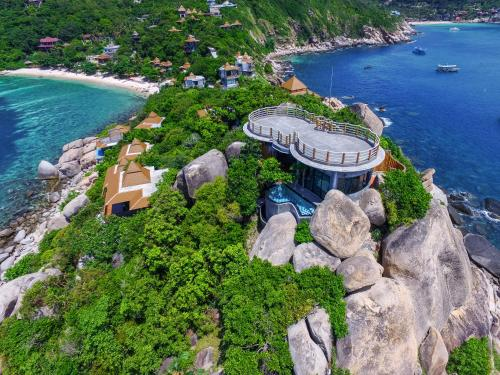 A bird's-eye view of Sai Daeng Resort