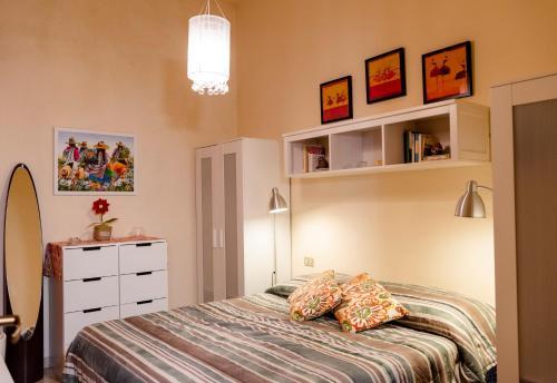 Letto o letti in una camera di A Casa di Antonella