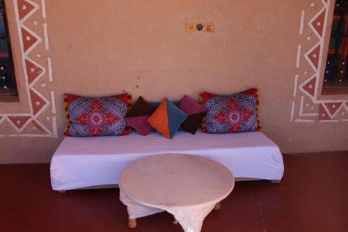 A seating area at Dar Timitar