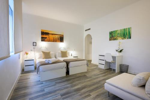 Zona de estar de NeoMagna Madrid