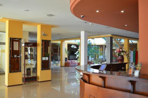 Лоби или рецепция в Hotel Bankya Palace