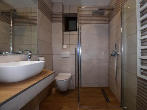 Łazienka w obiekcie Pod Hawraniem