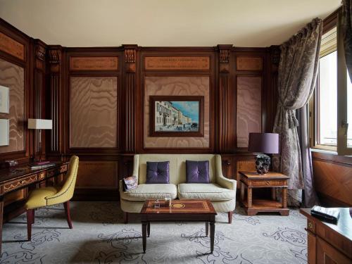 Zona de estar de Hotel Principe Di Savoia - Dorchester Collection