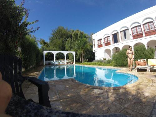 The swimming pool at or near Hotel Portal del Santo