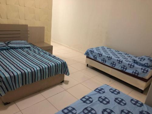 A bed or beds in a room at Propriedade do Marcio