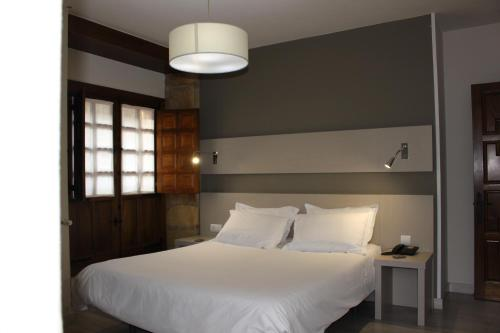 Cama o camas de una habitación en Los Guardeses
