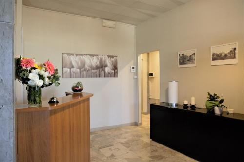 Hall o reception di Cameracaffè Centro