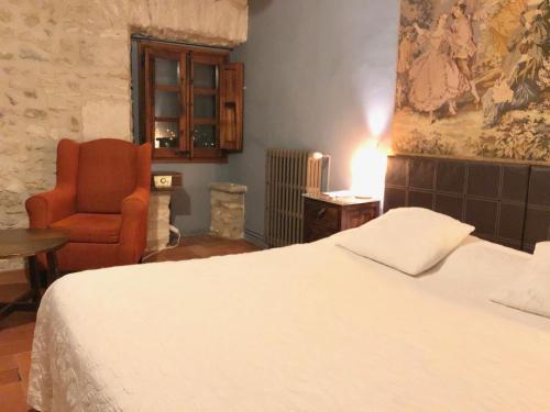 Cama o camas de una habitación en Mil Estrelles