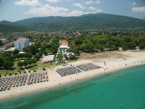 A bird's-eye view of Sun Beach Hotel