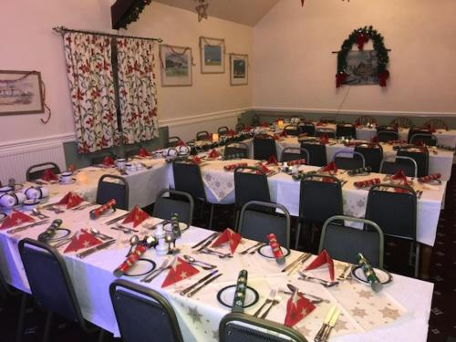 A restaurant or other place to eat at Nant Yr Odyn Country Hotel & Restaurant Ltd