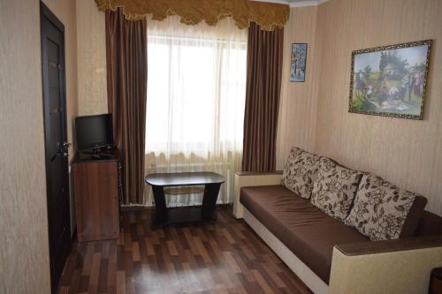 Гостиная зона в База отдыха Казачья пристань