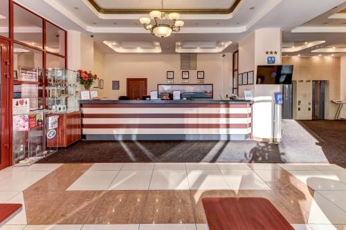Lobby/Rezeption in der Unterkunft Tourist Hotel