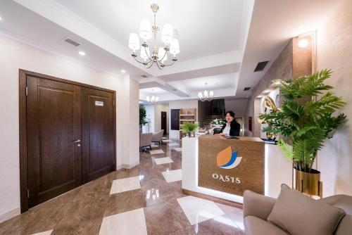 Лобби или стойка регистрации в Oasis Residence