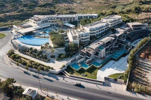 A bird's-eye view of Cretan Dream Royal