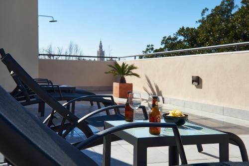 Un balcón o terraza de Slow Suites Setas