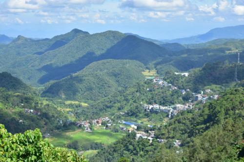A bird's-eye view of Hiwang Native House Inn & Viewdeck
