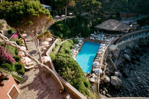 A bird's-eye view of Mezzatorre Hotel & Thermal Spa