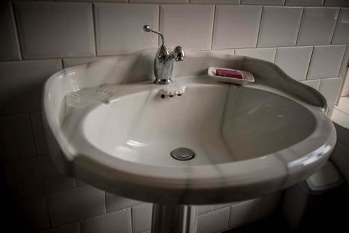 Een badkamer bij B&B Chez Mémère