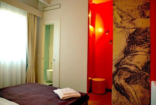 Cama o camas de una habitación en Florent
