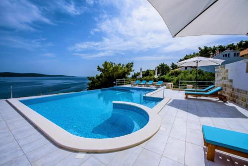 The swimming pool at or near Hotel Skalinada