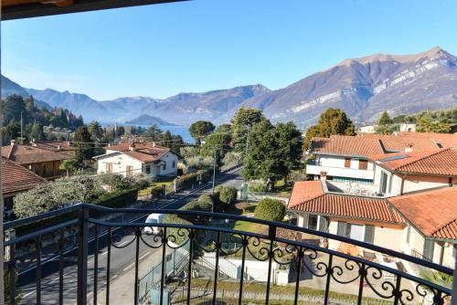 A balcony or terrace at Albergo Ristorante Silvio