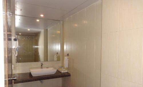 A bathroom at Pride Ananya Resorts