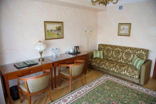 Гостиная зона в Гостиница Даниловская