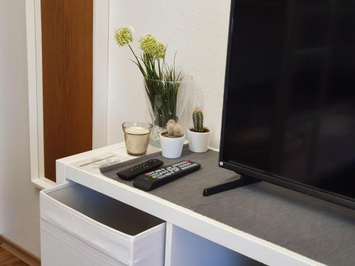 A television and/or entertainment center at Kaiser Homestay