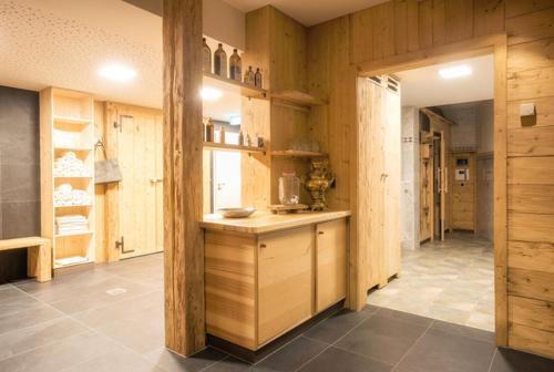 Küche/Küchenzeile in der Unterkunft Hotel & Restaurant Zum Hirsch
