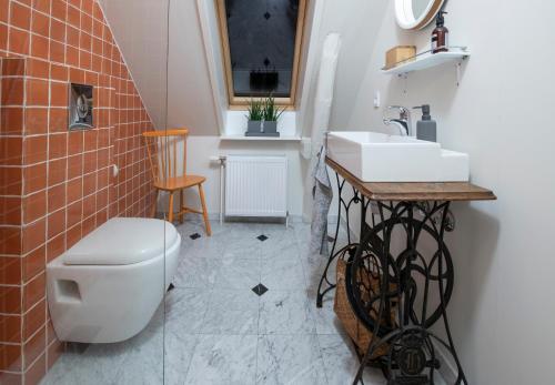 Ein Badezimmer in der Unterkunft Fjelde Guesthouse