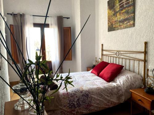 Cama o camas de una habitación en Molí Fariner Casa Rural