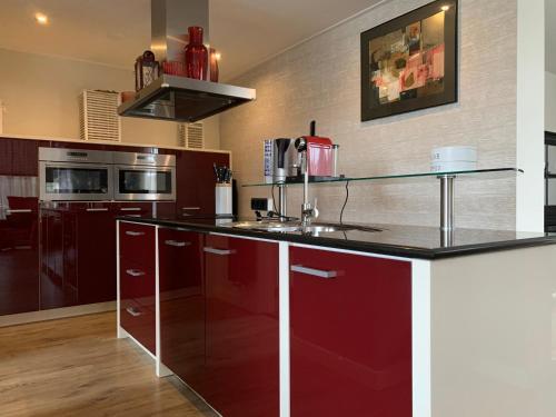 A kitchen or kitchenette at Texelheerlijk4