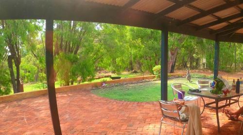 The swimming pool at or near Yallingup Pet Friendly Bush Retreat