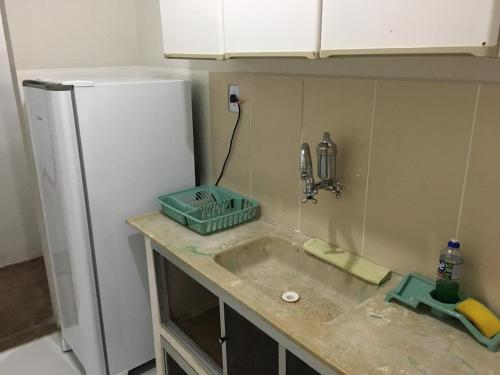A kitchen or kitchenette at Lazer da Campo Grande