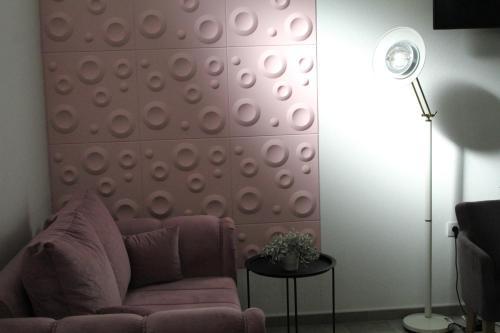 Prostor za sedenje u objektu Garni Hotel 11tica DM