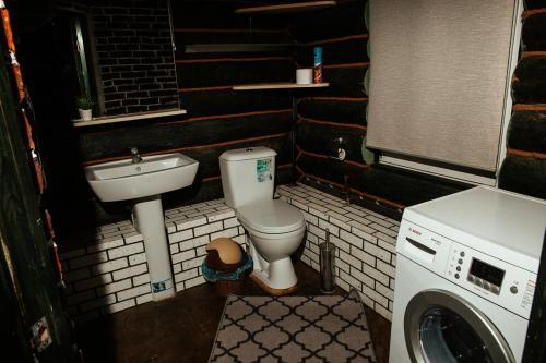 Ванная комната в Шале Завидово Гольф