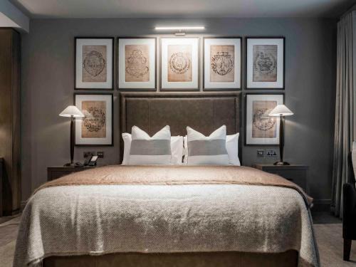 Cama o camas de una habitación en Dakota Leeds