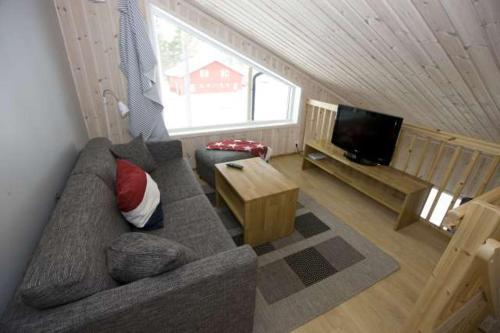 A seating area at Leksand Strand Camping och Resort