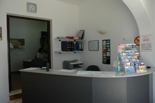 Lobby/Rezeption in der Unterkunft Apartamentos Sa Cala