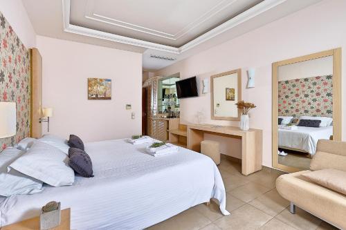 Letto o letti in una camera di Castello Boutique Resort & Spa - Small Luxury Hotels of the World
