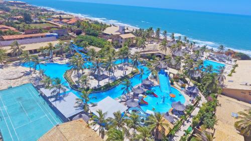 Uma vista aérea de Hotel Parque das Fontes