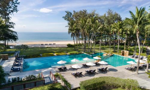 A view of the pool at Dusit Thani Krabi Beach Resort or nearby