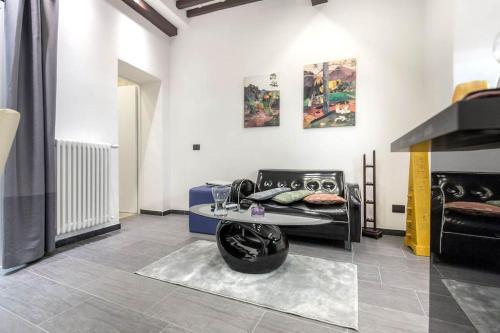 Zona de estar de Gauguin Modern House + Free Bikes