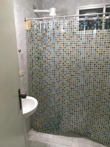 A bathroom at Flat Hostolla Marssielle