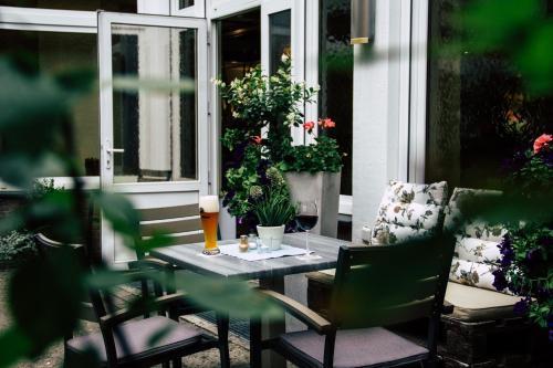 Ein Restaurant oder anderes Speiselokal in der Unterkunft Hotel-Restaurant Kolpinghaus
