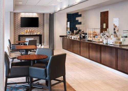 A restaurant or other place to eat at Residence Inn Bethesda Downtown