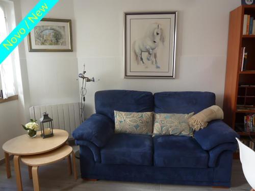 A seating area at Casa do Briamante 9