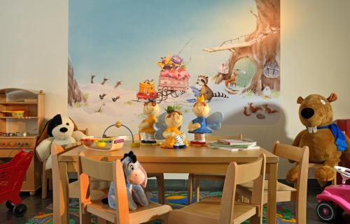 The kid's club at Mont Cervin Palace