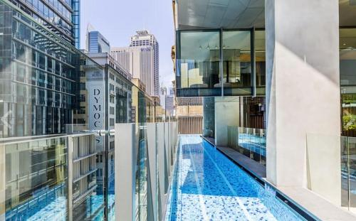 The swimming pool at or near York & George: Sydney CBD