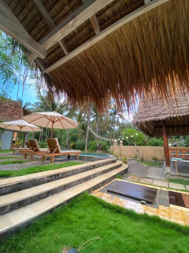 The swimming pool at or close to Tentacle Bali